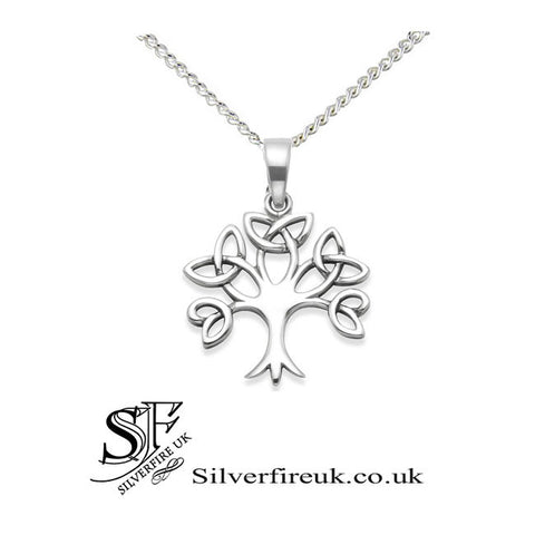 Celtic tree of life pendant