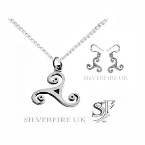 Triskele Celtic Jewellery Set