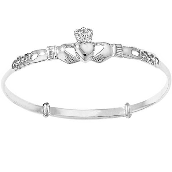 Claddagh bangle, Celtic bangle