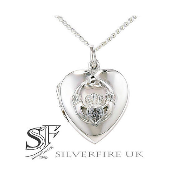 Celtic Claddagh Locket, celtic locket uk