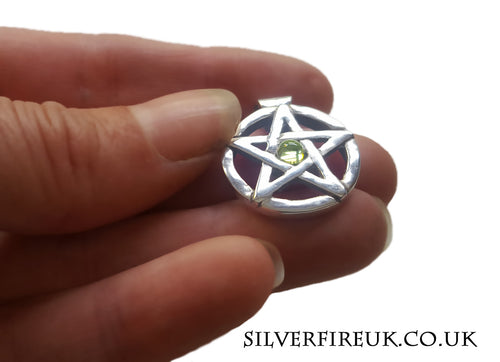 Peridot Pentagram Custom Made