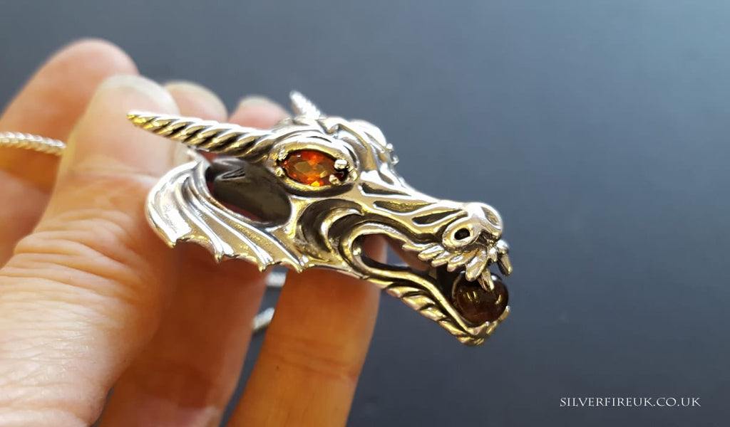 dragon gothic  jewellery