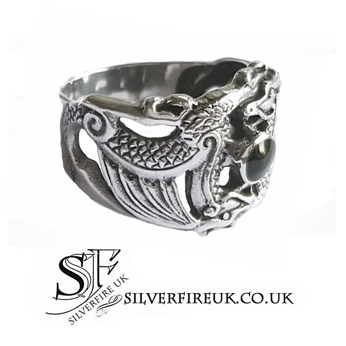 Dragon Ring Sterling Silver
