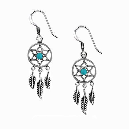 NEW: Pentagram Threader Earrings