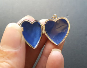 gothic heart locket