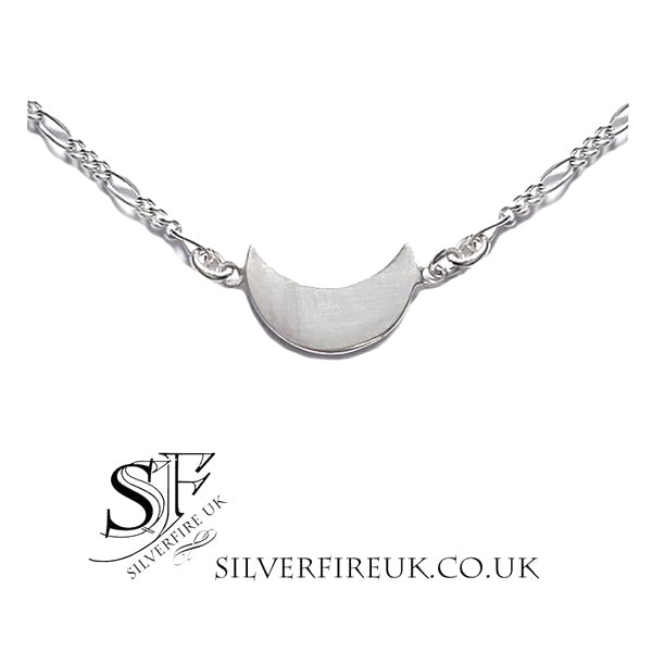 cceca3845c397 Small Half Moon Choker Necklace