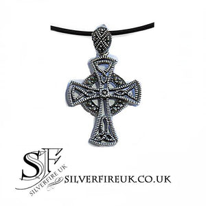 celtic cross necklace, mens celtic cross