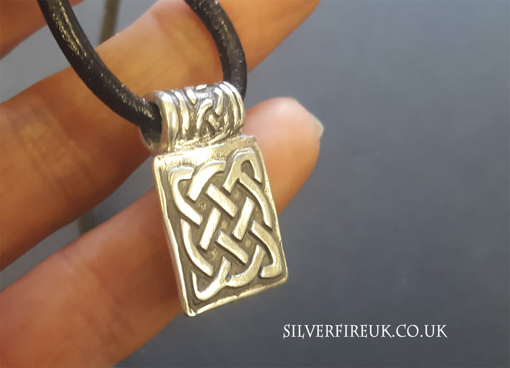Mens Celtic necklace