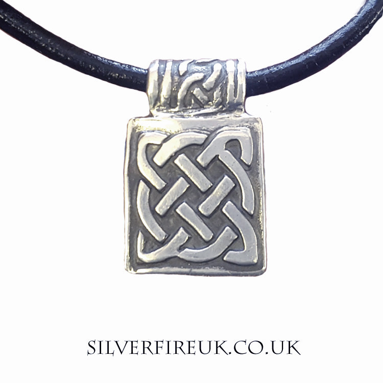 rectangular mens necklace
