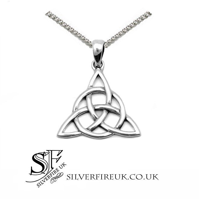 Triquetra Necklace Sterling Silver