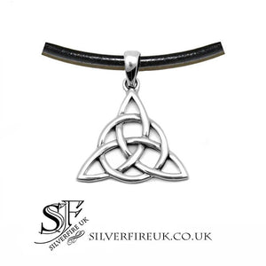 Mens Triquetra Necklace