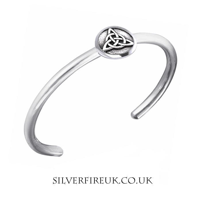 Mens Triquetra Bangle