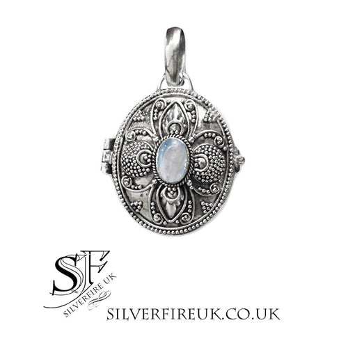 Moonstone Locket