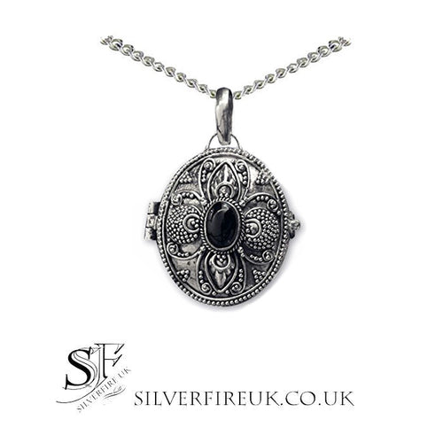 Gothic lockets poison pendants gothic locket necklace jewellery onyx locket necklace aloadofball Gallery