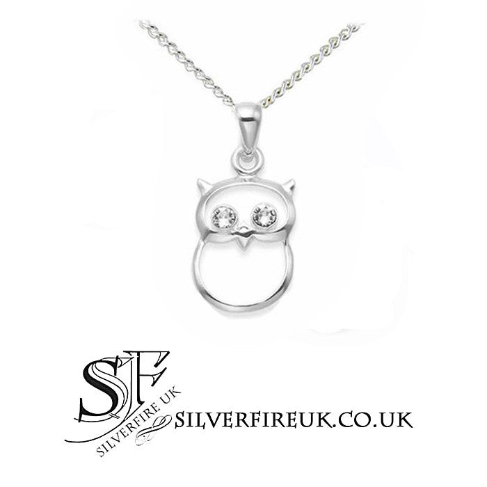 Owl Necklace, Owl Jewellery