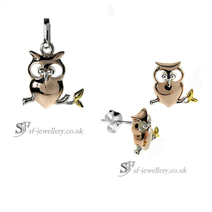 Owl Jewellery Set