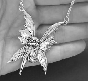 pixie faery necklace