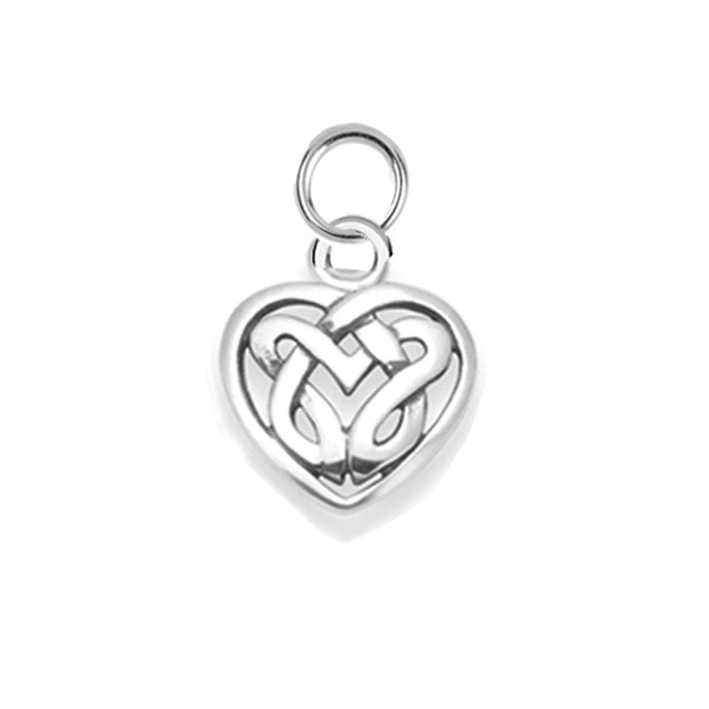 small Celtic heart charm