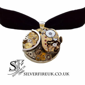 steampunk choker necklace