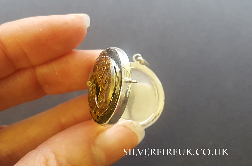 steampunk locket