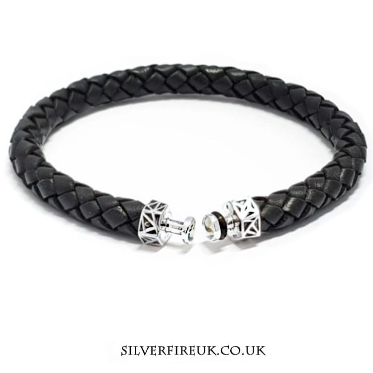 Talisman Leather Bracelet