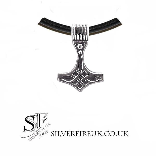 mens thor's hammer necklace
