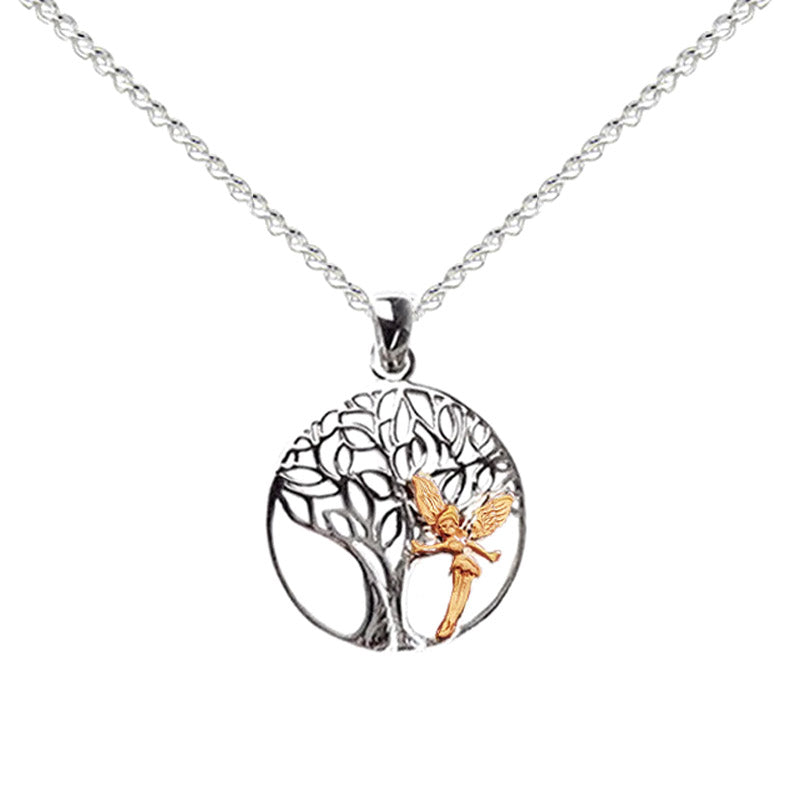 tree fairy necklace
