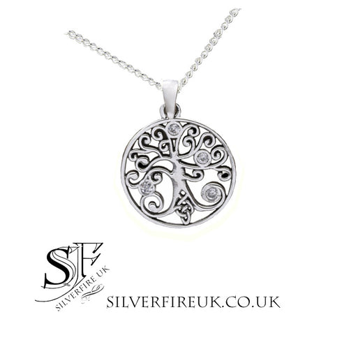 Tree Of Life Necklace Celtic Detail