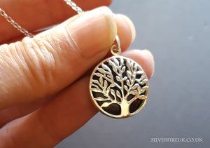 tree of life onyx necklace