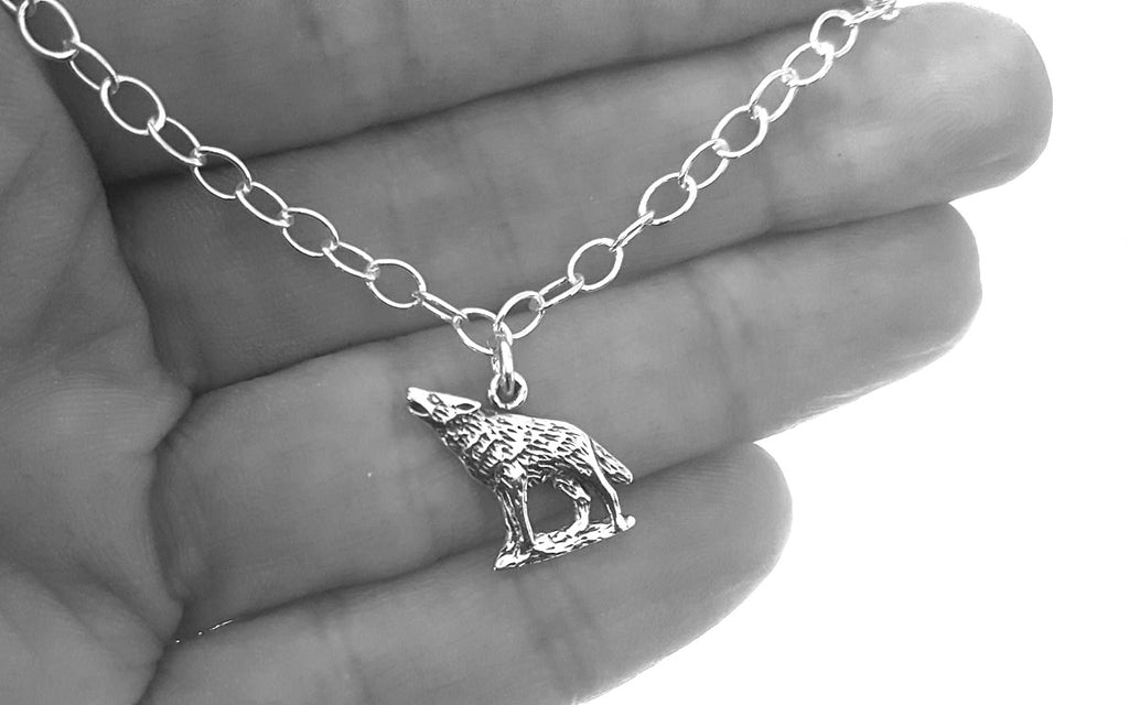 wolf anklet