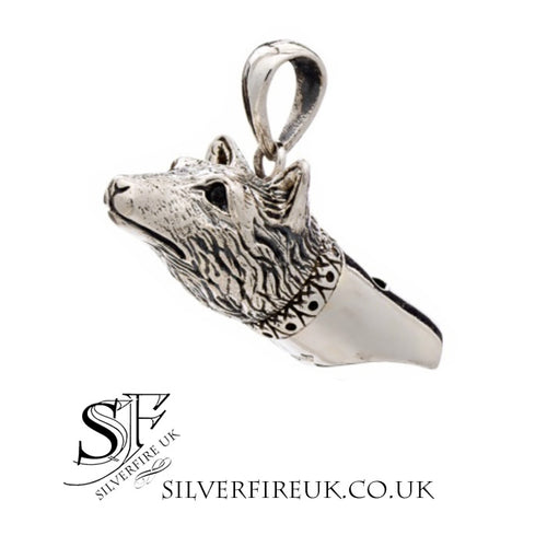wolf whistle pendant