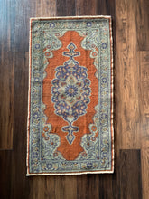 "Load image into Gallery viewer, Allison - 1'10"" x 3'5"" Vintage Turkish Anatolian Rug"