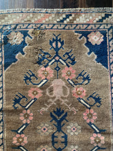 "Load image into Gallery viewer, Jodie - 2'10"" x 4'6"" Vintage Turkish Oushak Rug"