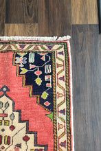 "Load image into Gallery viewer, Louisa - 1'7-1/2"" x 3'1"" Vintage Turkish Anatolian Rug"
