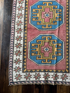 Bobbi - 2.9' x 6.9' Vintage Turkish Runner