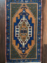"Load image into Gallery viewer, Judi - 1'10"" x 3'3"" Vintage Turkish Anatolian Rug"