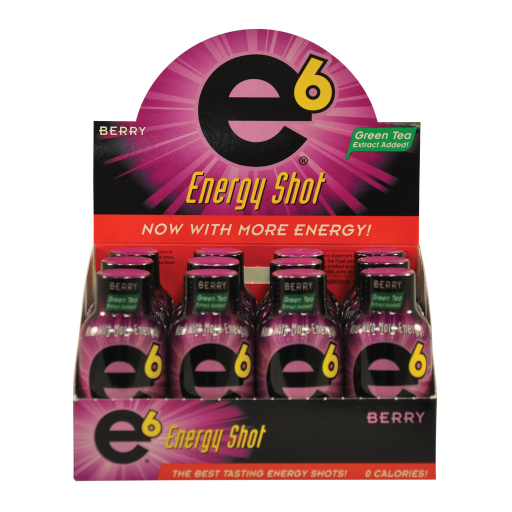 Berry Energy Shot 12 Pack