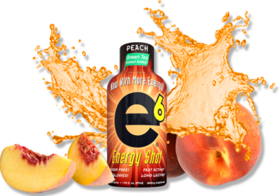 Peach Energy Shot 2 Pack 2 oz per