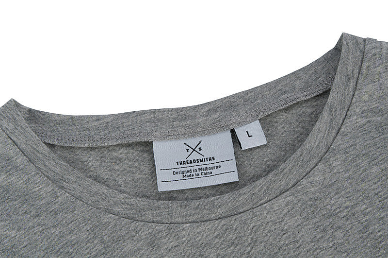 The Cavalier - Women's Grey T-Shirt - Threadsmiths - 3