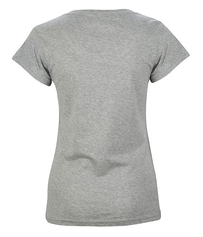 The Cavalier - Women's Grey T-Shirt - Threadsmiths - 2