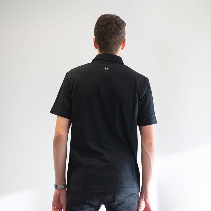 Game - Men's Black Polo Shirt