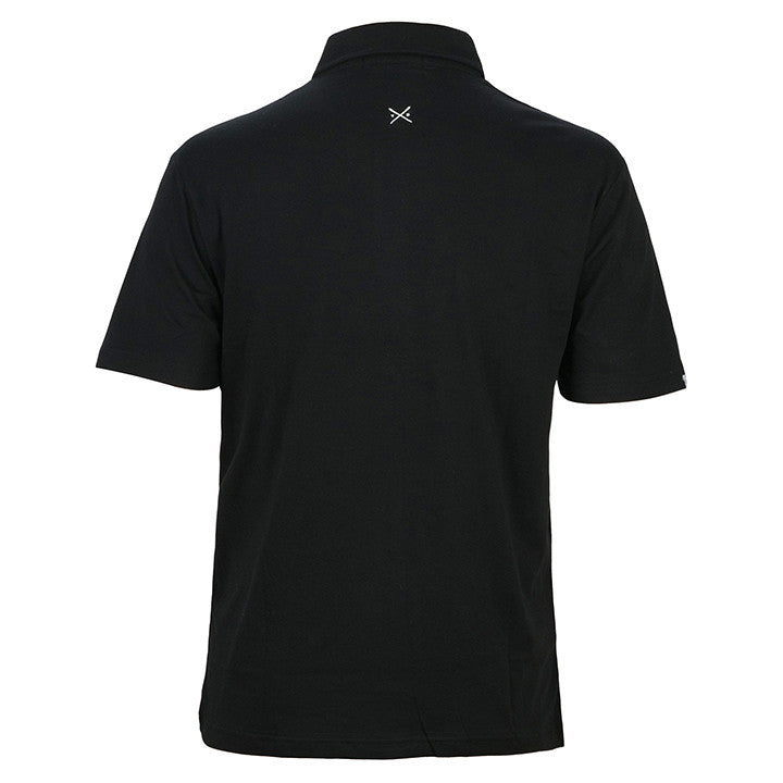 The Game - Men's Black Polo Shirt - Threadsmiths - 2