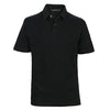 Game - Men's Black Polo Shirt - Threadsmiths