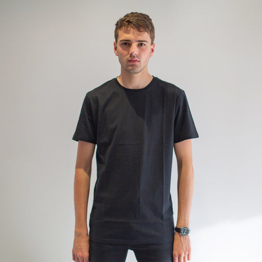 Cavalier - Men's Black T-Shirt - threadsmiths