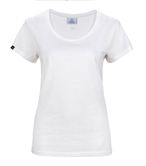 The Cavalier - Women's White T-Shirt - Threadsmiths - 1