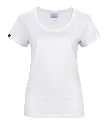 The Cavalier - Women's White T-Shirt