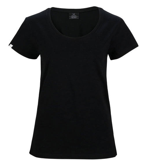 The Cavalier - Women's Black T-Shirt - Threadsmiths - 1
