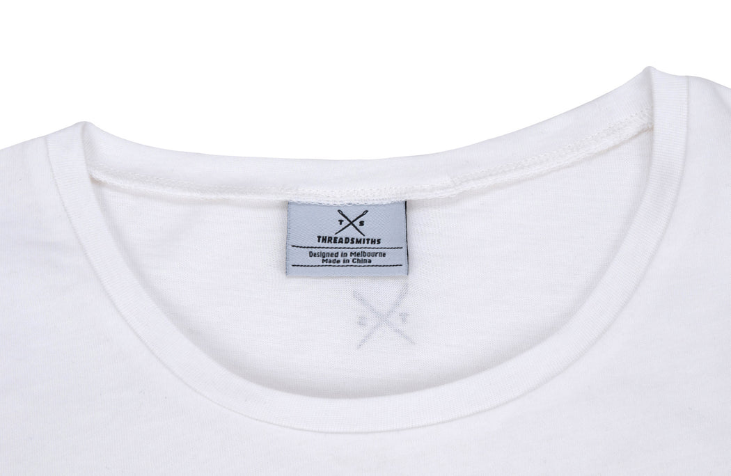 The Cavalier - Babies White T-Shirt - Threadsmiths - 3