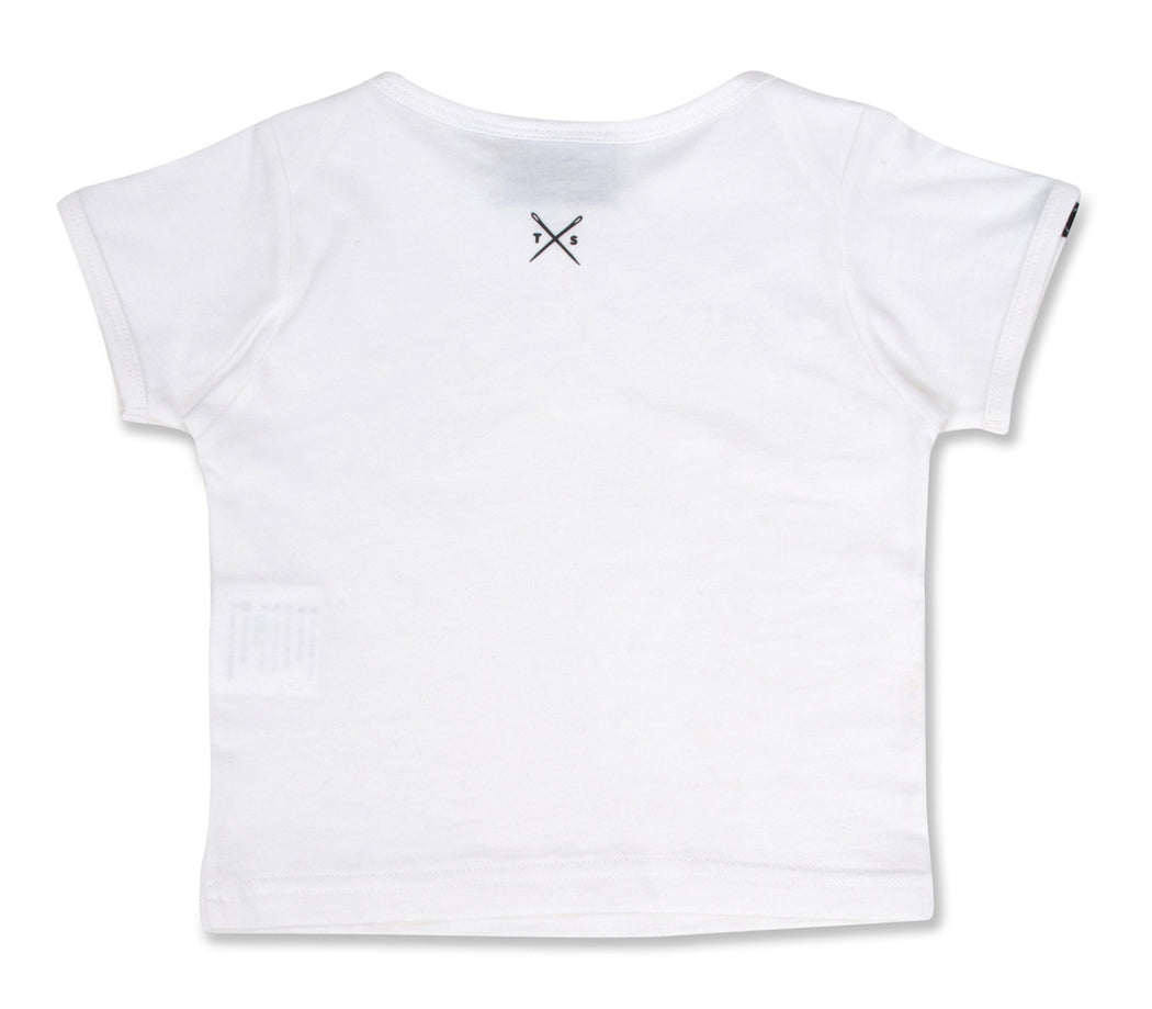 The Cavalier - Babies White T-Shirt - Threadsmiths - 2