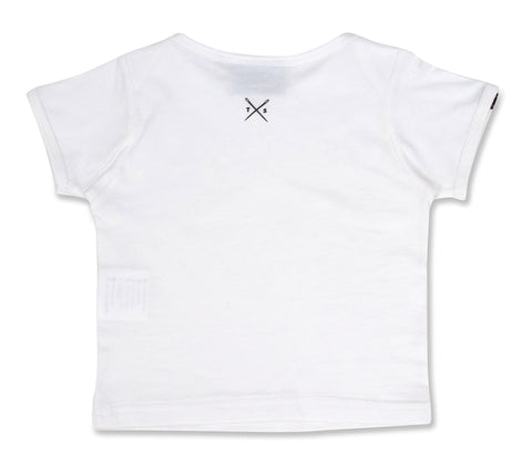 The Cavalier - Babies White T-Shirt